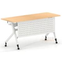 培训桌 组合会议组合翻板条桌 学习培训折叠条桌批发