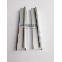 外框晶钢门铝材系列 大理石橱柜晶钢门铝材 外框凸边