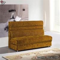 欧式茶餐厅卡座沙发高档布艺添加了高弹海绵,实木定型