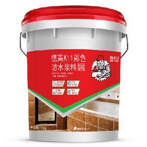 德高K11彩色防水浆料 单组份通用型图片