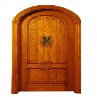 瑞尔信中式风格酒店木门 实木贴皮门 实木复合门