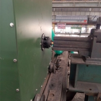 棒材测径仪对线棒材断面形状进行测量