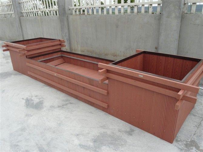 户外塑木花箱 塑木价格 花箱厂家
