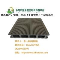 木塑空心地板厂家供应河北塑木地板,河北空心塑木地板135*2