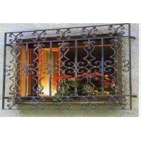 供应佛山铁艺别墅窗、铁艺窗花、铁窗、别墅窗
