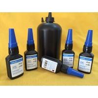 橡胶与塑料粘接UV双固化瞬间胶,金属与金属粘接UV双固化瞬间