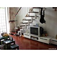 南京伯爵楼梯----套管钢木楼梯