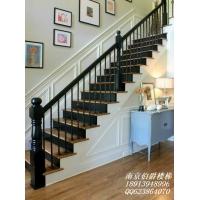 南京伯爵楼梯--时尚简欧铁艺花楼梯