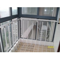 南京伯爵楼梯----落地窗阳台护栏