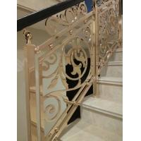 南京伯爵楼梯-----铜艺护栏