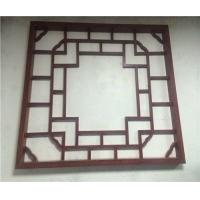 仿古雕花铝屏风  中欧式工程专用窗花 按要求定制