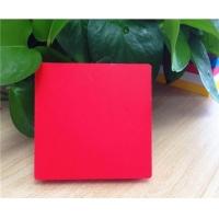 高密度鑫蒂红色PVC广告板
