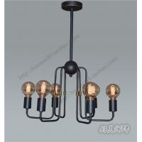 爱迪生灯泡吊灯美式铁艺灯饰复古工业吊灯创意酒吧餐厅咖啡厅灯具