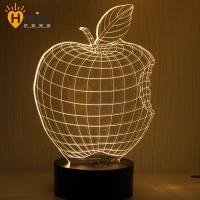 3D创意灯 台灯 LED立体灯
