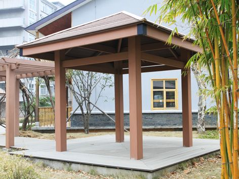 户外木塑板 户外木塑防水地板 专用生态木 热销木塑
