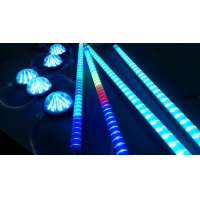 LED跑马护栏管,护栏灯,七彩流水数码管厂家