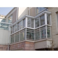 合肥做封陽臺1.4中空鋼化玻璃窗戶