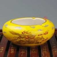 五周年庆典陶瓷摆件