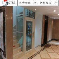 厂家供应家用别墅电梯 楼梯中间的小型观光电梯