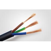 RVV3*0.5护套线 0.5平方3芯插座线 铜芯软电缆 国