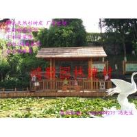 杭州丛林真树皮小屋、杉树皮、真树皮、树皮屋、造景真树皮