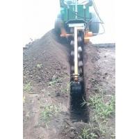 小型滑移挖沟机