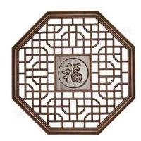 东阳木雕-仿古门窗