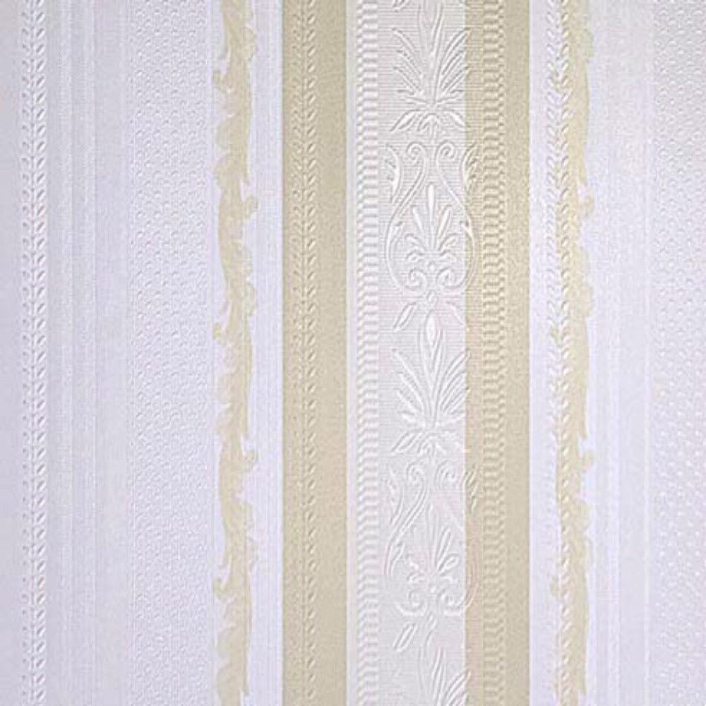 集成墙板 黄白条纹