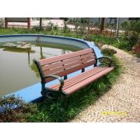 环保塑木长椅,塑木凳子