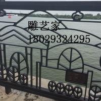 星河湾河堤观光护栏生产厂家