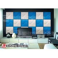 文化墙系列--派尔魔块电视墙