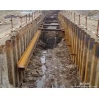 专业地基护坡专业打钢管桩公司