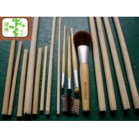 供应湖楠竹板材精致竹圆棒、竹方,竹化妆刷、竹工艺品