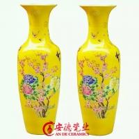 陶瓷大花瓶 花瓶定做 陶瓷花瓶定做