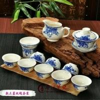 陶瓷茶具,景德镇茶具,景德镇青花茶具