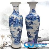 景德镇陶瓷大花瓶,定制花瓶,礼品花瓶