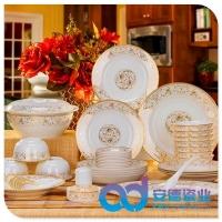 景德镇陶瓷餐具,餐具套装,礼品陶瓷餐具