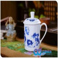 景德镇陶瓷茶杯厂家定制高档骨质瓷茶杯定制