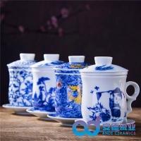 庆典礼品陶瓷茶杯活动纪念品陶瓷茶杯