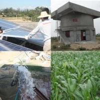 1.1kw220V单相太阳能水泵系统