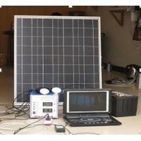 50w便携式太阳能发电设备