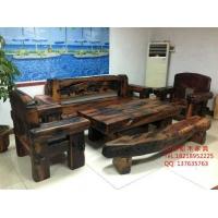 船木家具 船木长凳沙发