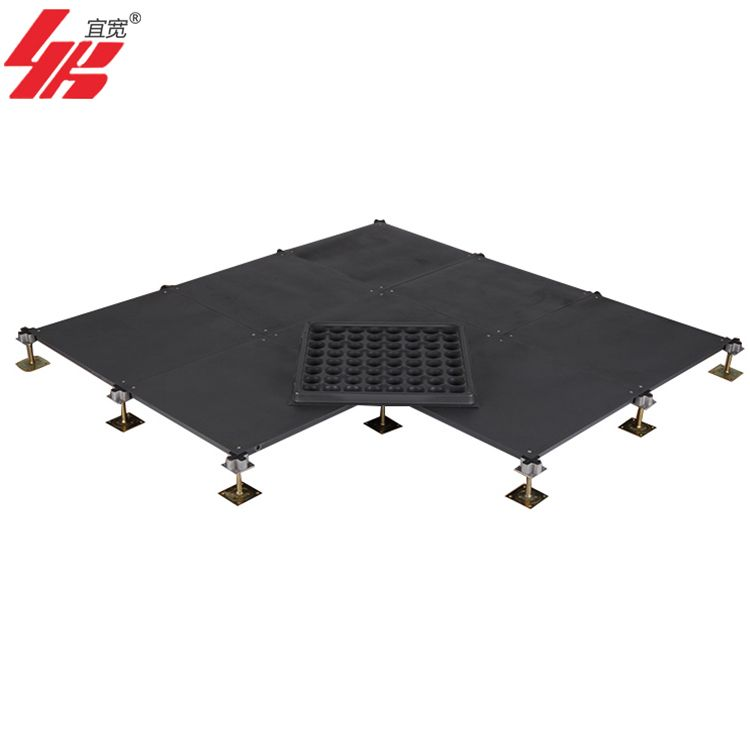上海宜宽优质国标高架全钢OA500网络活动地板包安装