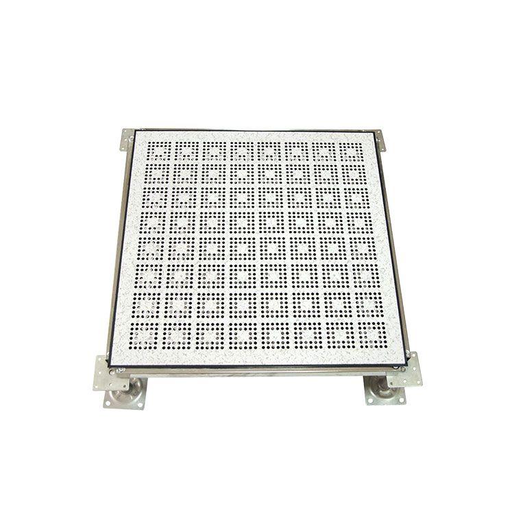 上海宜宽全钢防静电通风地板散热抗静电与盲板配套使用