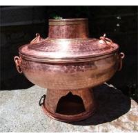 手工木炭铜火锅