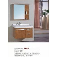 河南长葛浴室柜橡木8050款美式,欧式浴室柜