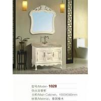 河南橡木PVC浴室柜厂1028款