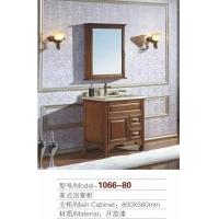 河南长葛橡木浴室柜厂美式1066款