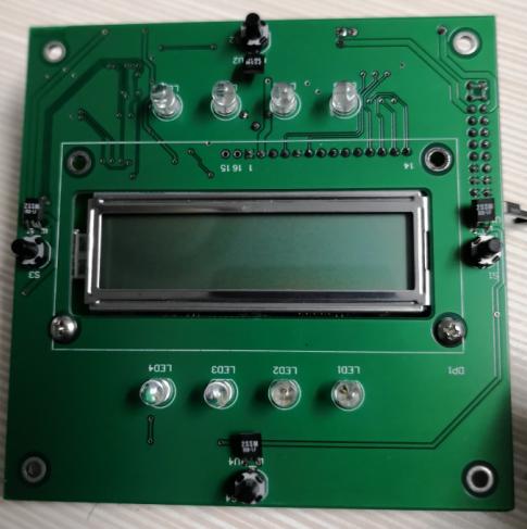 OFS331硫化氢分析仪显示板