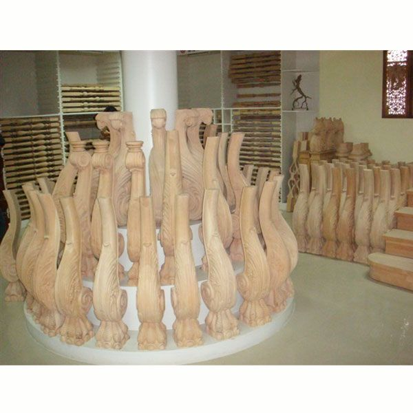 南京实木立柱-盛发楼梯-楼梯扶手